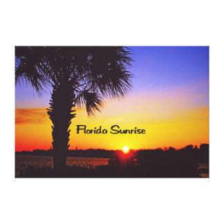 フロリダの美しい日の出 キャンバスプリント