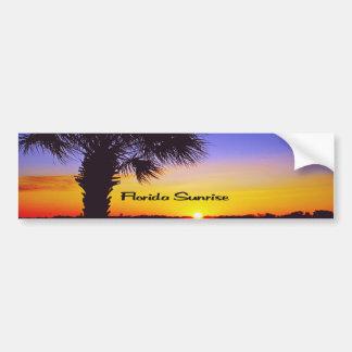 フロリダの美しい日の出 バンパーステッカー
