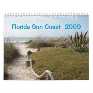 フロリダの西海岸2009年 カレンダー