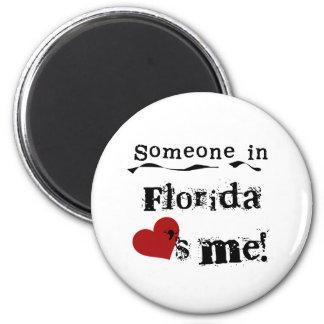 フロリダの誰かは私を愛します マグネット