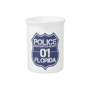 フロリダの警察の盾01 ピッチャー