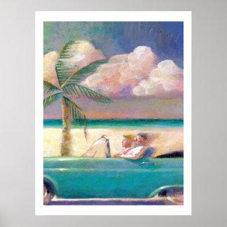 フロリダの遠征のプリント ポスター