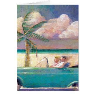 フロリダの遠征のメッセージカード カード