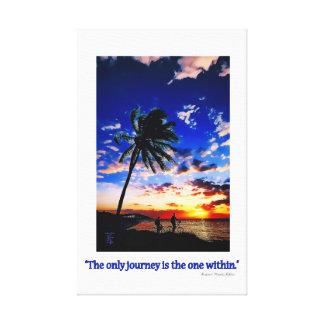 フロリダの鍵からの日の出 キャンバスプリント