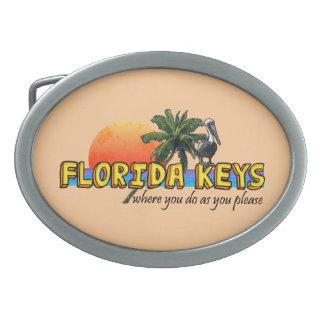 フロリダの鍵 卵形バックル
