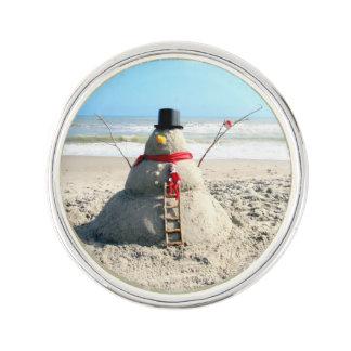 フロリダの雪だるまのラペルピン ラペルピン