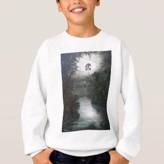 フロリダの霧深い川のコケ スウェットシャツ