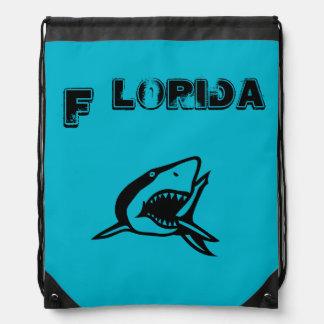 フロリダの鮫のバッグ ナップサック