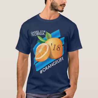 フロリダのTシャツのための#OrangeLife/ダニエル Tシャツ