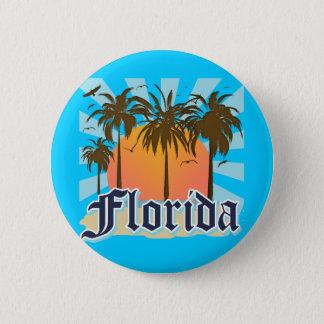 フロリダサンシャイステート米国 缶バッジ