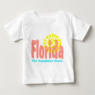 フロリダサンシャイステート ベビーTシャツ