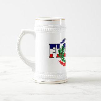 フロリダドミニコ共和国共和国ステイン ビールジョッキ