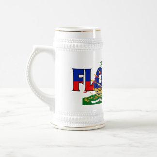 フロリダハイチステイン ビールジョッキ