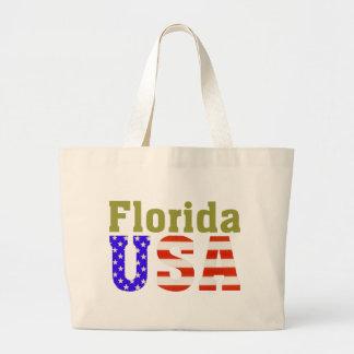 フロリダ米国! ラージトートバッグ