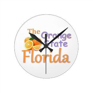 フロリダ ラウンド壁時計