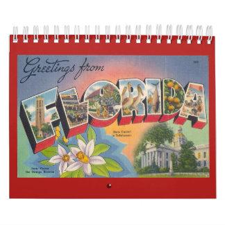 フロリダ、ヴィンテージ年 カレンダー