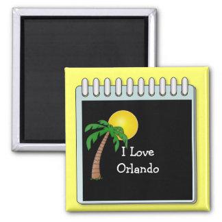 フロリダ: 私はオーランドを愛します マグネット