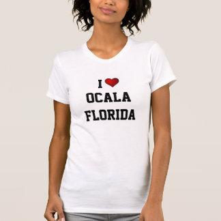 フロリダ: 私はOCALA、フロリダを愛します Tシャツ