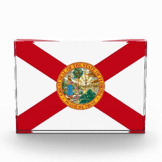 フロリダ、米国の旗が付いている賞 表彰盾