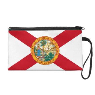 フロリダ、米国の旗が付いているBagettesのバッグ リストレット