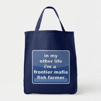 フロンティアのマフィアの魚の農家 トートバッグ