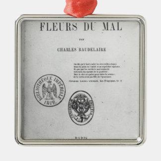 フロントカバー、「LesのフルーアDUの初版 メタルオーナメント