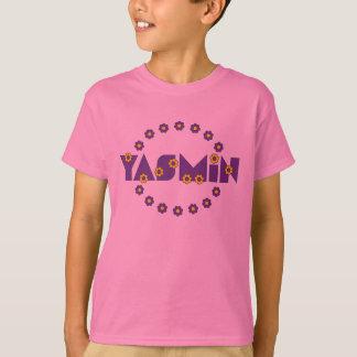 フローレス島の紫色のヤズミン Tシャツ