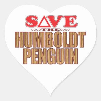 フンボルトのペンギンの保存 ハートシール
