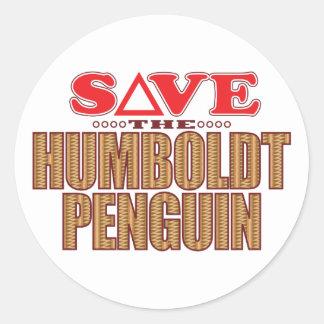 フンボルトのペンギンの保存 ラウンドシール