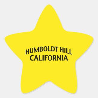 フンボルトの丘カリフォルニア 星シール