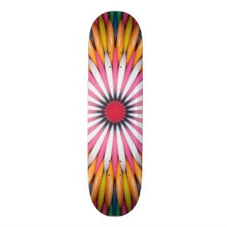 フーセンガムのデジタル芸術のスケートボード 20.6CM スケートボードデッキ