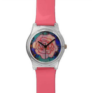 フーセンガムのバラの腕時計 腕時計