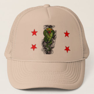 フード付きのコブラの帽子 キャップ