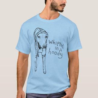 フード付のWhippet Tシャツ