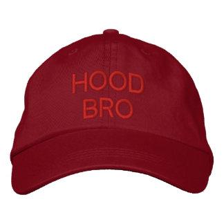 フードBRO -カスタムな帽子@ eZaZZleman.com 刺繍入りキャップ