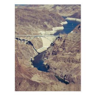 フーバー・ダムのアンテナ ポストカード