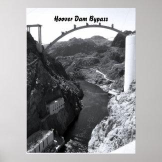 フーバー・ダム、フーバー・ダムのバイパス ポスター