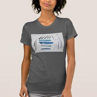 ブイのファインアートによって印刷されるアメリカの服装のTシャツ Tシャツ