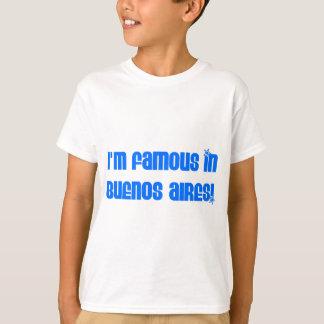 ブエノスアイレスで有名 Tシャツ