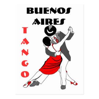 ブエノスアイレスのタンゴ ポストカード
