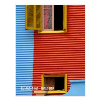 ブエノスアイレスアルゼンチンの郵便はがき ポストカード