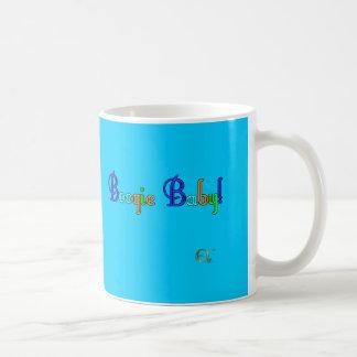ブギウギのベビー コーヒーマグカップ