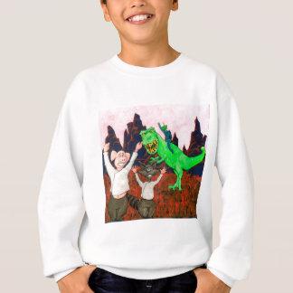 ブタおよびアライグマは悪い日を過します スウェットシャツ