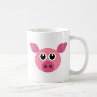 ブタおよびデザイン項目 コーヒーマグカップ
