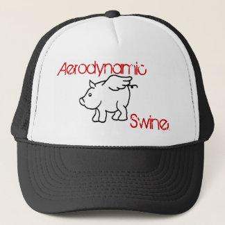 ブタが帽子を飛ばす時 キャップ