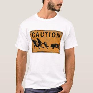 ブタのインフルエンザのXingのTシャツ Tシャツ