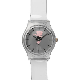 ブタのバレエダンサー 腕時計