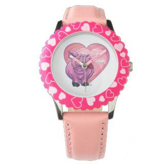 ブタのバレンタインデー 腕時計
