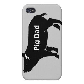 ブタのパパ iPhone 4 カバー