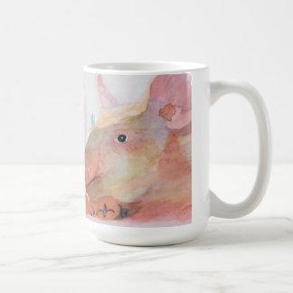 ブタのマグ コーヒーマグカップ